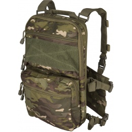 Lancer Tactical 1000D Nylon QD Chest Rig and Backpack Combo - MC TROPIC
