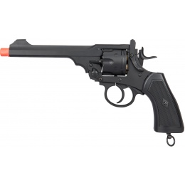 WellFire G293 Webley MKVI Top-Break CO2 Revolver Airsoft Gun