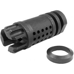 Atlas Custom Works 14mm CCW M4 Series Airsoft Flash Compensator