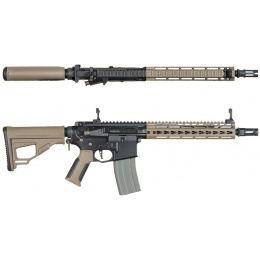 ARES Octarms X M4 KM10 Assault Rifle AEG - DARK EARTH