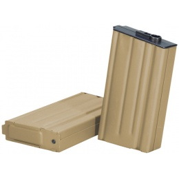 ARES 160rd Mid Capacity Airsoft Magazine for SR25 / M110 AEGs - TAN