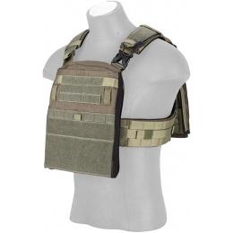 Crye Precision Licensed AVS Adaptive Vest System Plate Carrier - RANGE GREEN