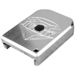 Atlas Custom Works Aluminum Base for Hi Capa Mags - SILVER