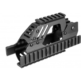 Sentinel Gears P90 Aluminum Picatinny Quad Rail - BLACK