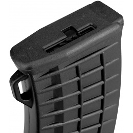 Sentinel Gears 500rd Waffle Pattern High Capacity Magazine for AK AEGs - BLACK
