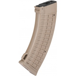 Sentinel Gears 500rd Waffle Pattern Hi-Cap Magazine for AK - DARK EARTH