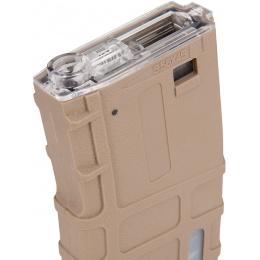Sentinel Gears 350rd Waffled Polymer M4 High Cap AEG Magazine - TAN