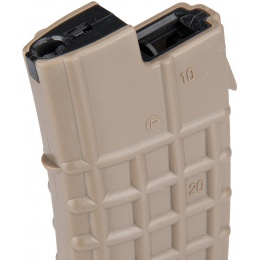 Sentinel Gears 330rd UA AEG High Capacity Airsoft Magazine - DARK EARTH
