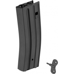 Sentinel Gears 430rd M4 High Capacity Magazine for Marui EBB Rifle - BLACK