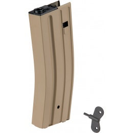 Sentinel Gears 430rd M4 High Capacity Magazine for Marui EBB Rifle - TAN