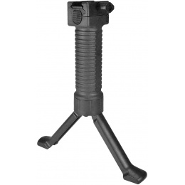 Sentinel Gears Quick Deploy Tactical Bipod Foregrip - BLACK