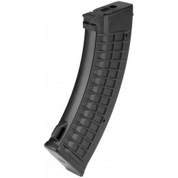 Sentinel Gears 110rd Waffled Mid Capacity AK47 Airsoft AEG Magazine - BLACK