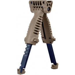 Sentinel Gears Rapid Deploy Tactical Bipod Foregrip - TAN
