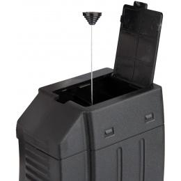 Sentinel Gears 1000rd AK47 / AK74 Flash Airsoft AEG Magazine - BLACK