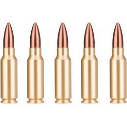 Sentinel Gears Dummy 7.62mm AK47 Bullets - BRASS