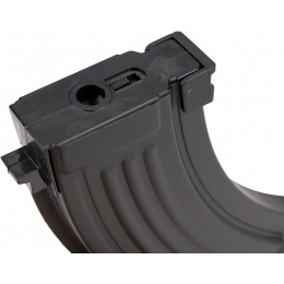 Sentinel Gears 150rd Mid Capacity Airsoft Magazine for AK AEGs - BLACK