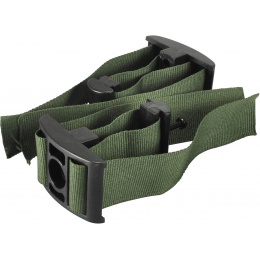 Sentinel Gears Double Magazine Clip for M4, M14 and AK Magazines - GREEN