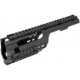 Sentinel Gears Rail System for M5 Series AEGs - BLACK