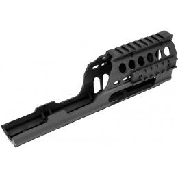 Sentinel Gears Rail System for M5 Series AEGs - BLACK