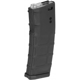 Sentinel Gears 330rd Waffled Polymer M4/M16 High Capacity AEG Magazine - BLACK