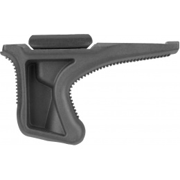 Sentinel Gears Low Profile Angled Grip w/ 20mm Rail Mount - BLACK