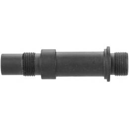 Sentinel Gears 14mm CCW Mock Suppressor Adapter for VZ61 AEGs - BLACK