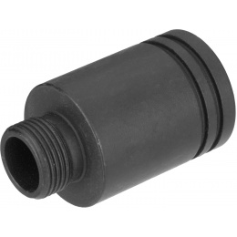 Sentinel Gears 14mm CCW Mock Suppressor Adapter for R36 AEGs - BLACK