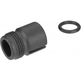 Sentinel Gears 14mm CCW Mock Suppressor Adapter for M5 A4/A5 AEGs - BLACK