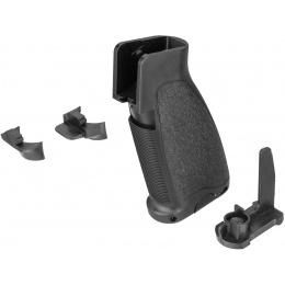 Sentinel Gears Warrior Motor Grip for M4 / M16 AEGs - BLACK