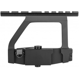 Sentinel Gears Quick-Detach AK Side Mouting Optics Rail - BLACK