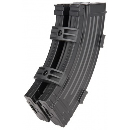 Sentinel Gears Dual 600rd High Capacity Airsoft Magazines for AK AEGs - BLACK