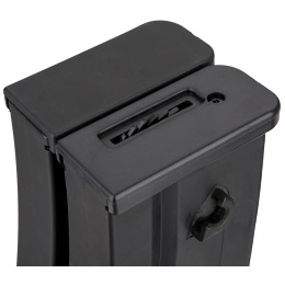 Sentinel Gears 1000rd Electric Winding Dual Magazine for R36 AEGs - BLACK