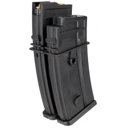 Sentinel Gears 1000rd Electric Auto-Winding Dual Magazine for R36 AEGs - BLACK