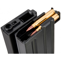 Sentinel Gears 1200rd Electric Winding Dual Magazine for M4 AEGs - BLACK