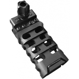 Atlas Custom Works 3.25-Inch QD Skeletonized Vertical Foregrip - BLACK