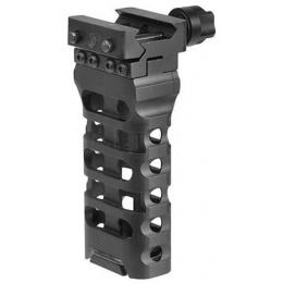 Atlas Custom Works QD 4-Inch Skeletonized Vertical Grip - BLACK