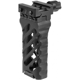 Atlas Custom Works 4-Inch Ultra Lighweight Cross Hatch Design Foregrip