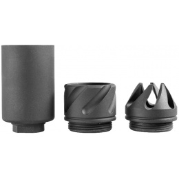 5KU Spit Fire Type Airsoft Muzzle Brake Device