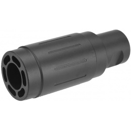 Atlas Custom Works Threaded Metal Alloy CCW Linear Compensator - BLACK