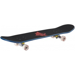 L-Sport Red Head Blue Complete Skateboard (8.0