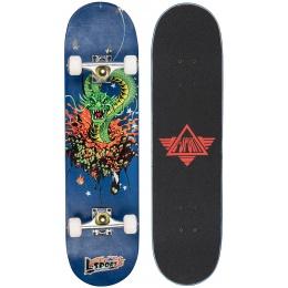 L-Sport Dragon Rage Blue Complete Skateboard (8.0