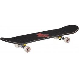 L-Sport Skull Spider Black Complete Skateboard (8.0