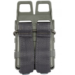 AMA High Speed Quick Draw M4 Airsoft Polymer Mag Pouch -  Foliage
