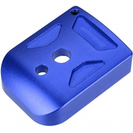 5KU Aluminum Hi-Capa Mag Base Cover (Type 1) - BLUE