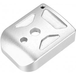 5KU Aluminum Hi-Capa Mag Base Cover (Type 1) - SILVER