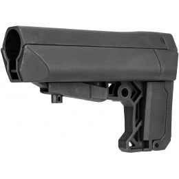 Lancer Tactical LT-18 Retractable Stock for M4 Airsoft AEGs - BLACK