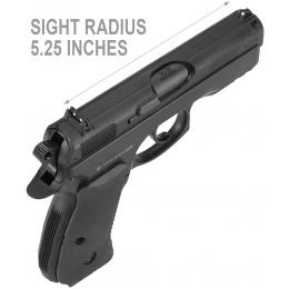ASG CZ 75D Compact CO2 Non-Blowback Airgun Pistol - BLACK
