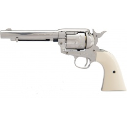 Umarex Colt Peacemaker CO2 BB Air Pistol Revolver - SILVER