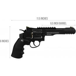 Umarex Smith & Wesson 327 TRR8 CO2 Airgun Revolver - BLACK