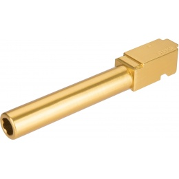 Atlas Custom Works G Series GBB Airsoft Outer Barrel (Smooth) - GOLD